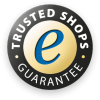 Our Onlineshop was verified by Trusted-Shop