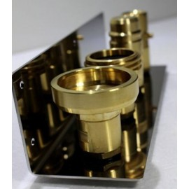 Halter Edelstahl V2A für LPG Fülladapter 21.8 (Tankgasflasche)