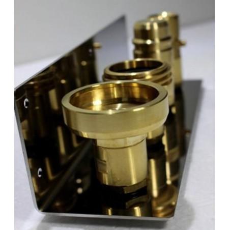 Support en acier inoxydable V2A pour adaptateur de remplissage GPL 21.8 (bouteille de gaz réservoir)