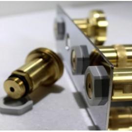 Bracket stainless steel V2A for LPG filling adapter 21.8 (tank gas bottle)