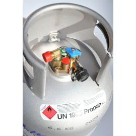 ALUGAS - Aluminium Tankgasflasche 11 kg wiederbefüllbar TRAVELmate 27,2 Liter