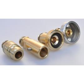 Tank adapter set LPG with sinter filter, set international (4 pieces) Tank gas bottle