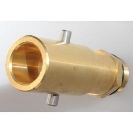 Tankadapter Bajonett mit Sinterfilter, LPG Tankgasflasche