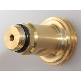 Adaptateur pour réservoir ACME avec filtre fritté, bouteille de gaz réservoir GPL