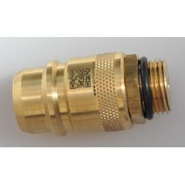 Adaptateur pour réservoir Nozzle (EUROnozzle) avec filtre fritté, bouteille de gaz réservoir GPL
