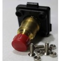 LPG Flat refuelling 21.8 Female thread Tank nozzle Tank gas cylinder