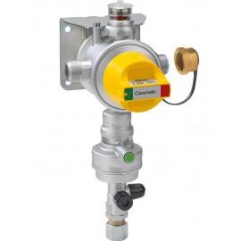 GOK Caramatic DriveTwo, vertikal - Zweiflaschen-Betrieb Gasdruckregler Crashsensor
