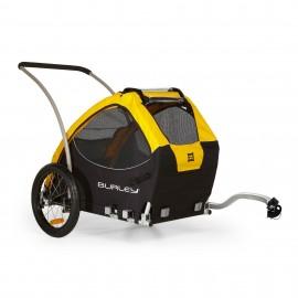 Chiens Burley Remorque à vélo pour chiens - Burley Tail Wagon remorque Animal et remorque de transport