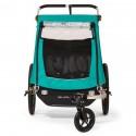 Burley Kinderfahrradanhänger und Kinderwagen Encore X Doppelbuggy