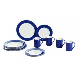 Camping Tableware Melamine Tableware Set / Promo Line Navy Blue