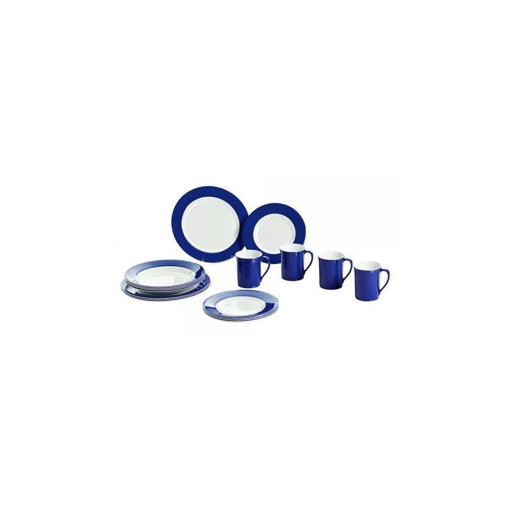 Melamin-Geschirrset / Promo Line Navy Blue