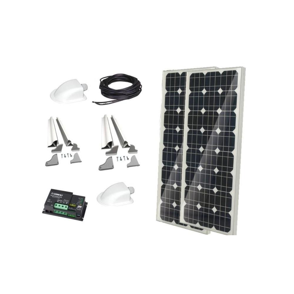 """Système solaire """"Kit complet CB 200"""" de Carbest 12V/200W"""