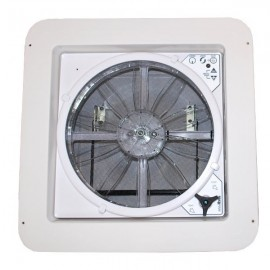 All weather RV Ventilator skylight MaxxFan Deluxe Tinted lid