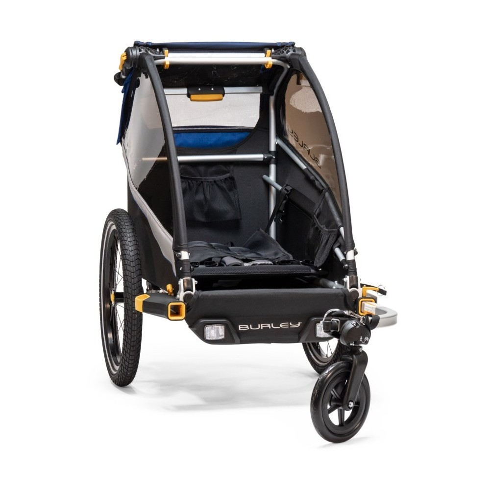 Burley Child Bike Trailer and Stroller Encore X Double Buggy