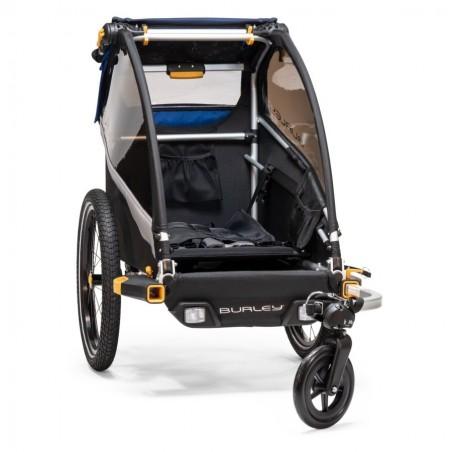 Burley Kinderfahrradanhänger und Kinderwagen D'Lite Single Buggy