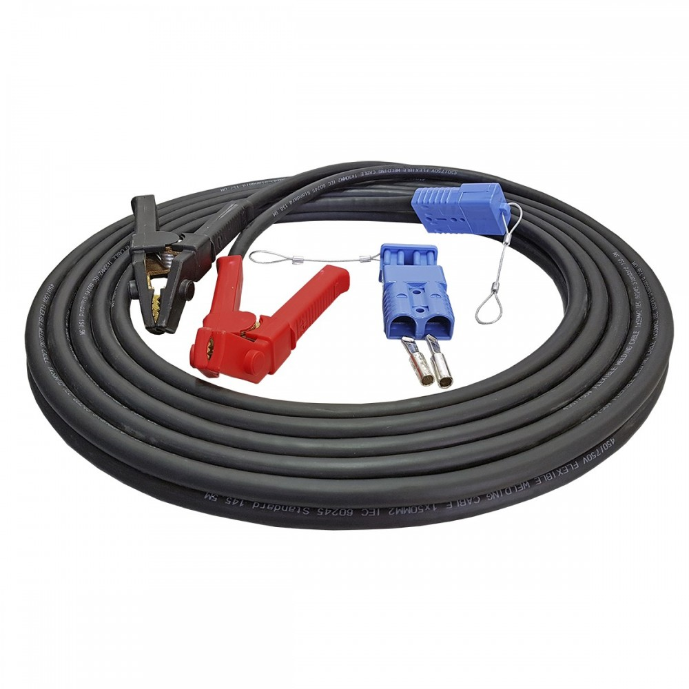 Cable set  25 mm² electric cable winch Battery with terminals Copper cable