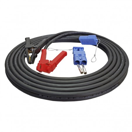 Cable set 35 mm² electric cable winch Battery with terminals Copper cable