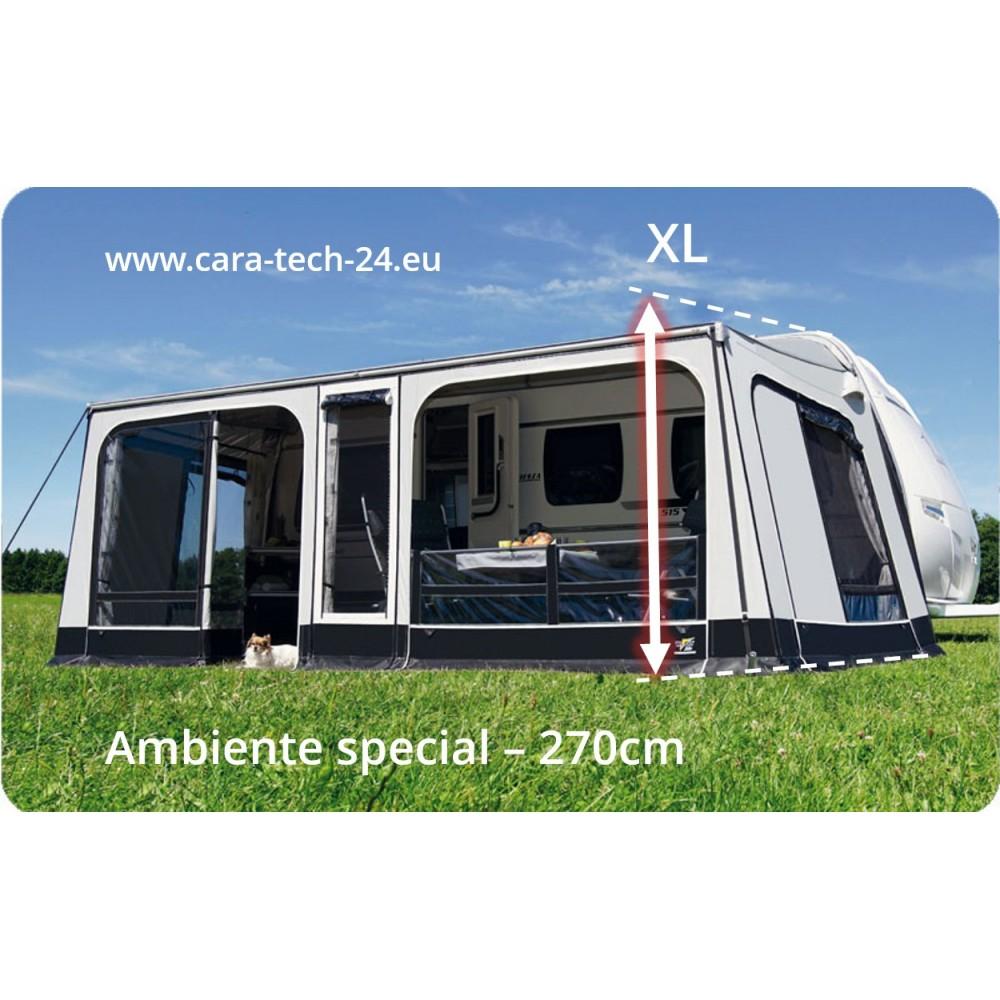 WIGO Rolli Plus Dethleffs C-Go Ambiente Special Caravan Dethleffs tente à auvent