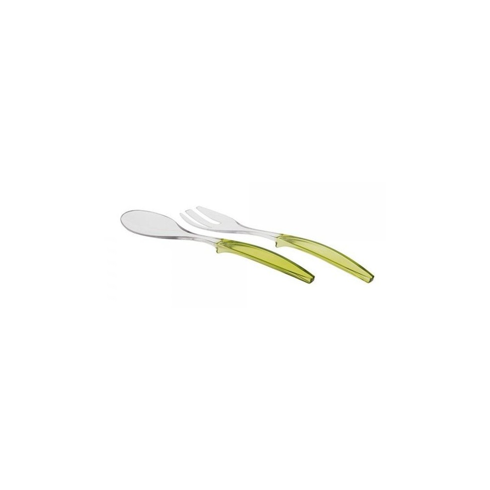 Salatbesteck / Lime Green
