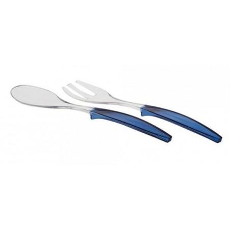 Salatbesteck / Blau Blue