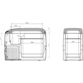Compressor cooler CoolFreeze CF 26 portable DOMETIC