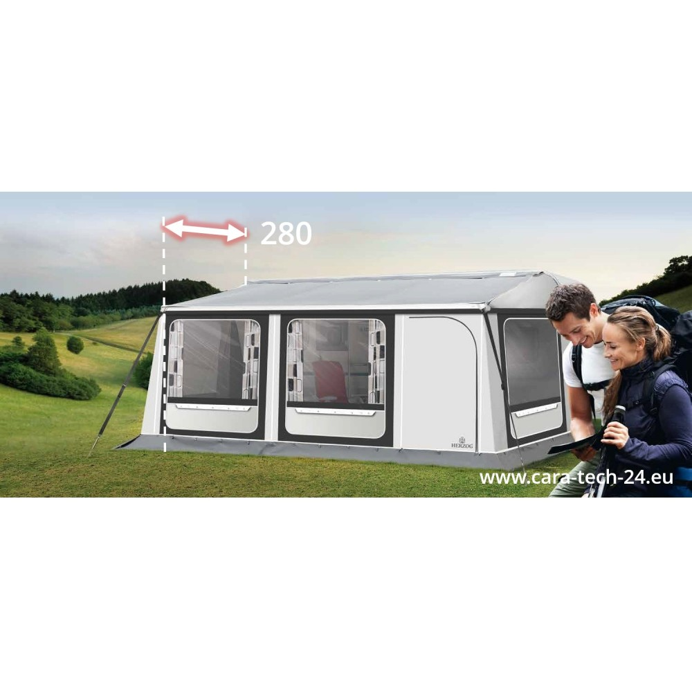 Herzog TRAVEL STAR PLUS awning 2.80 m caravan