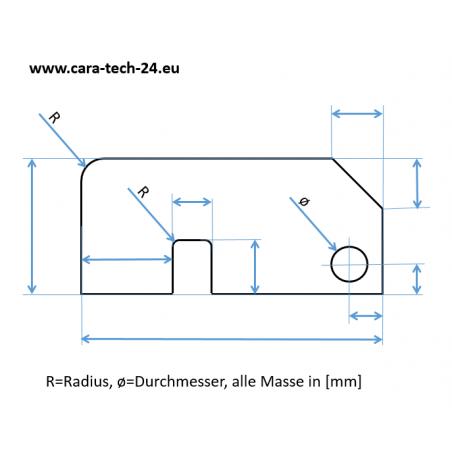 """Riffelbleche - Alu-Quintett """"Kundenzeichnung"""""""