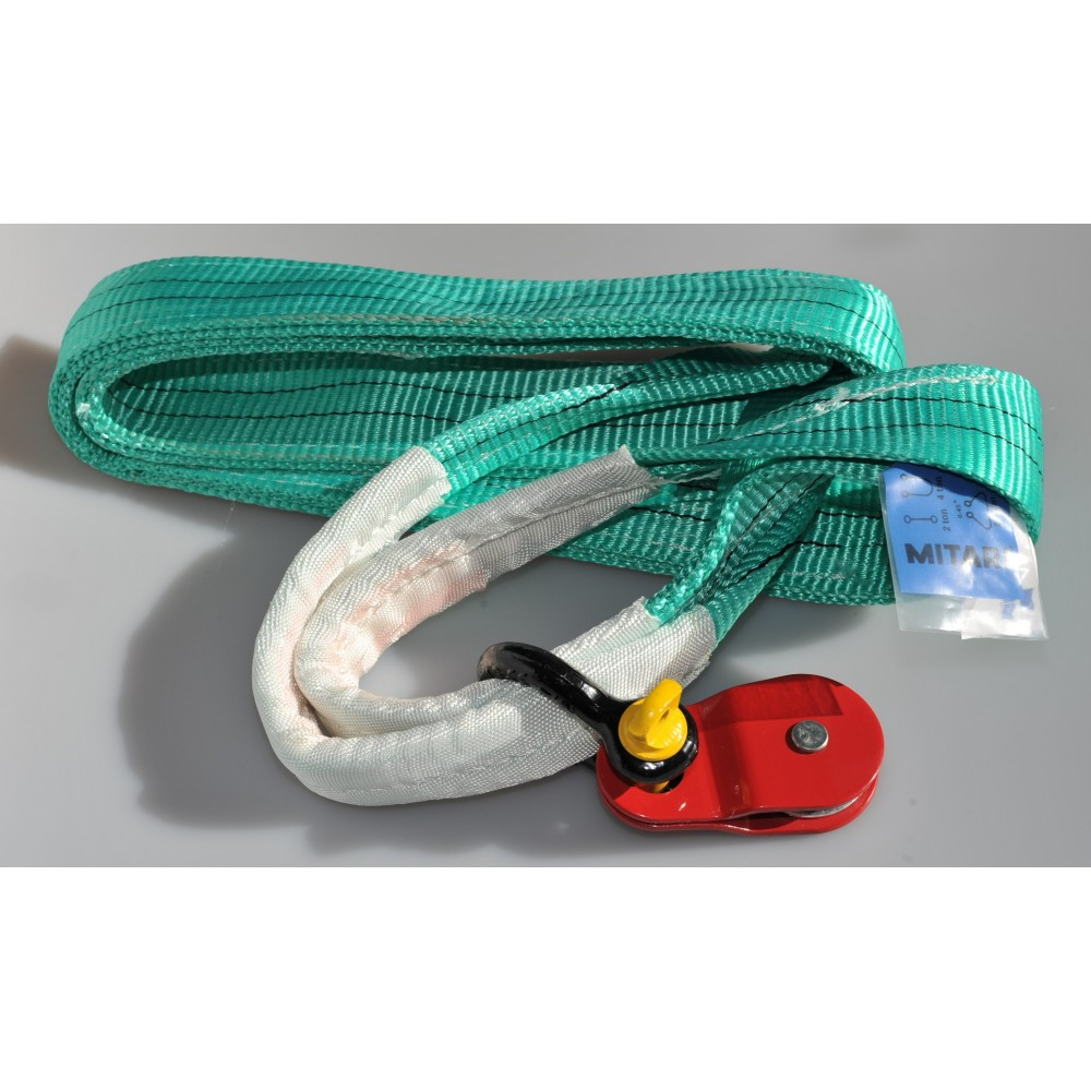 Offroad Set TREK2002 - winch recovery belt