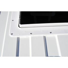 Dachhaube mit Raincover MaxxFan Deluxe White