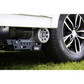Manoeuvring aid Mover kit X20 caravan - Quattro Diamond complete package PowerXtreme X20 - purple line