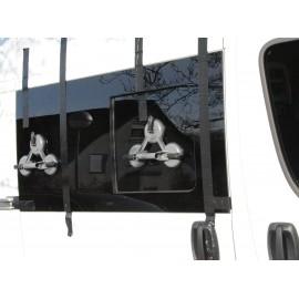 Fenêtre coulissante Fiat Ducato à partir de 07, 1400x665, avant droite, fenêtre Carbest
