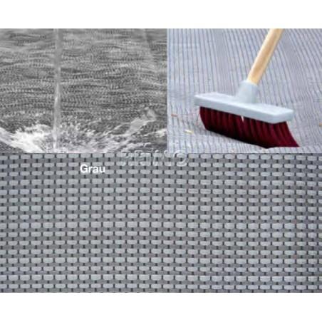 Awning carpet Tent floor carpet 2,50 m grey