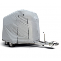 All weather trailer tarpaulin L horse trailer