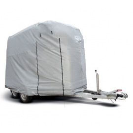 All weather trailer tarpaulin L horse trailer