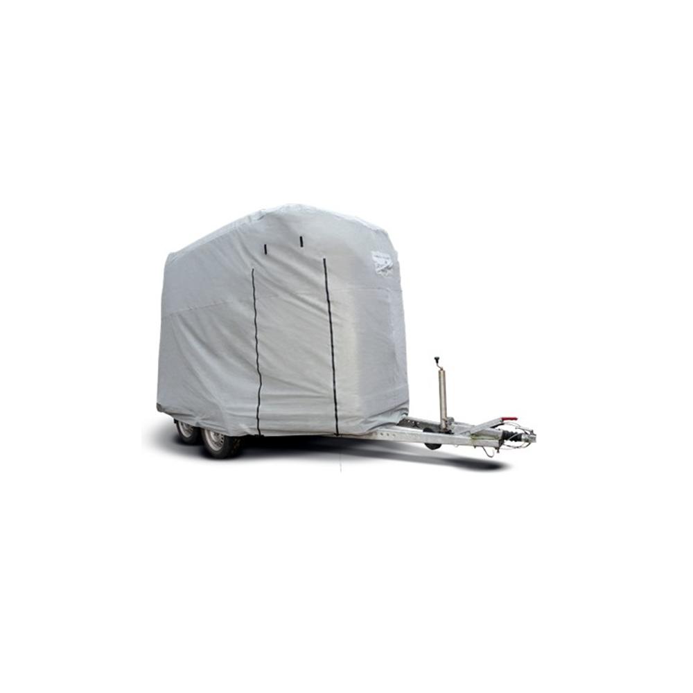 Capa Allwetter Trailer Schutzplane L grau