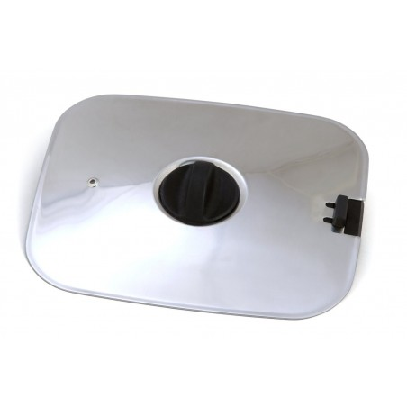 Lid for pots + pan SMARTSPACE, square, stainless steel