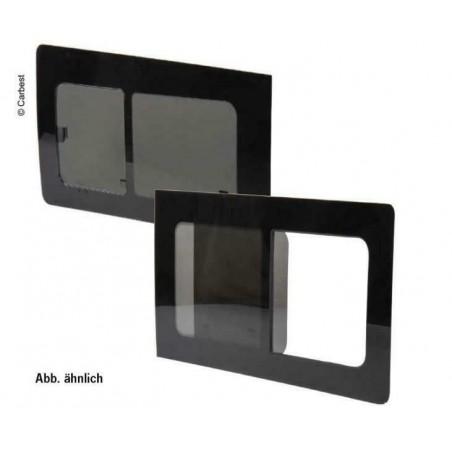 Schiebefenster, Glasfenster getönt Fiat Ducato ab Bj. 07, 1400x665, vorne links, Carbest Fenster