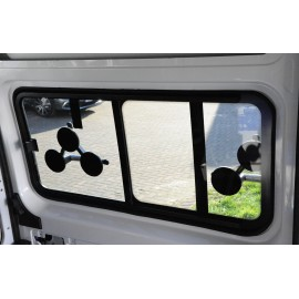 tinted tempered sliding window Fiat Ducato from year 07, 1434x665, front left, Carbest window