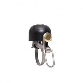 bicycle bell design mini bell Brave Classics in black