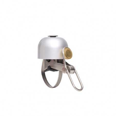 bicycle bell design mini bell Brave Classics in silver