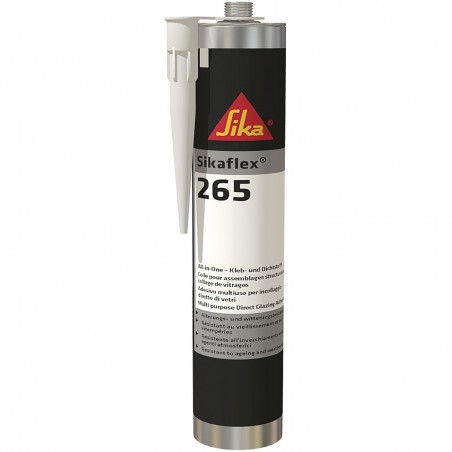 Sikaflex-265 multi purpose adhesive as direct glazing adhesive