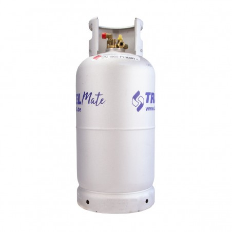Alugas - 14kg (33 Litres) Refillable Alu Gas Cylinder TRAVELmate
