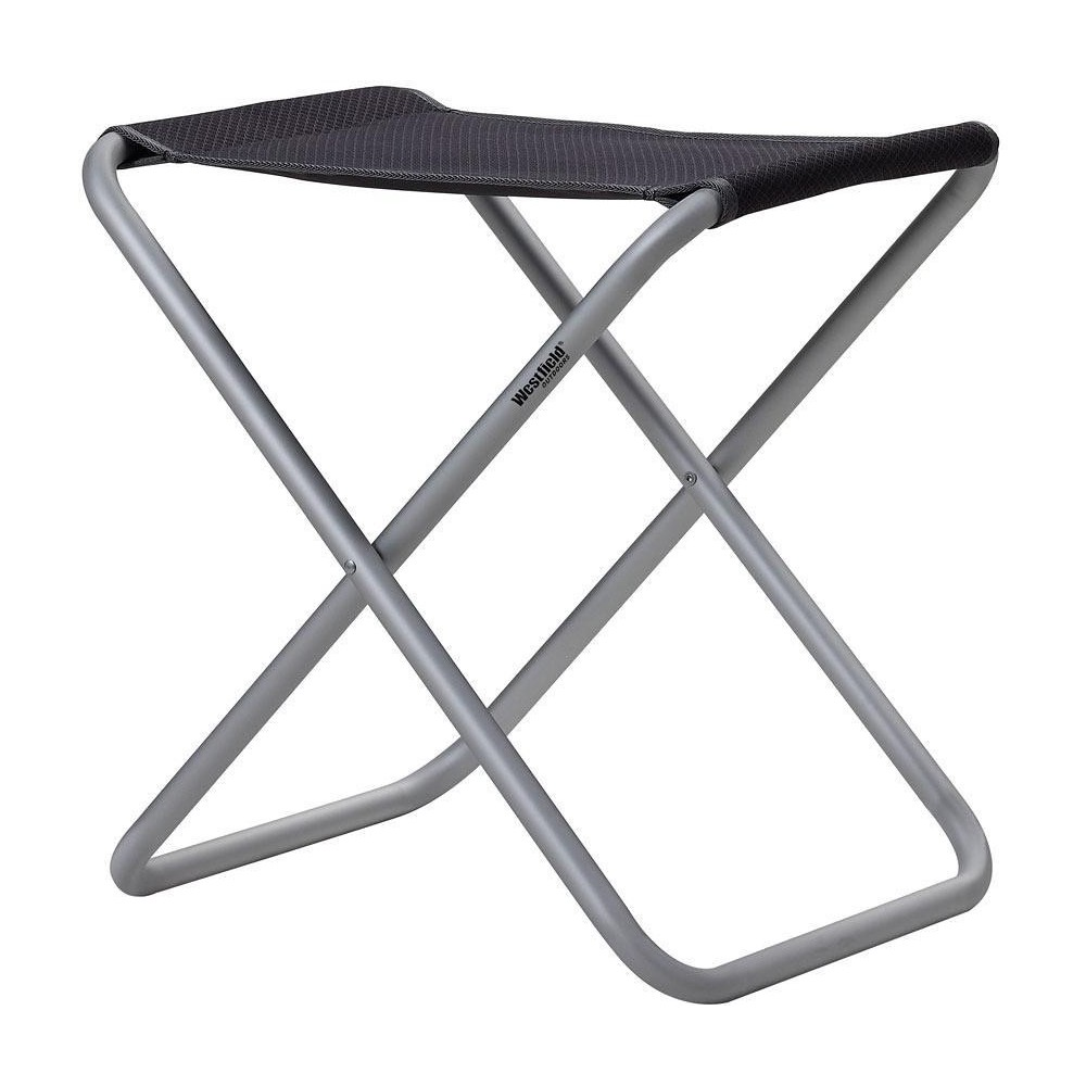 Tabouret Westfield Advancer XL, gris anthracite, jusqu'à 100 kg de charge - noir