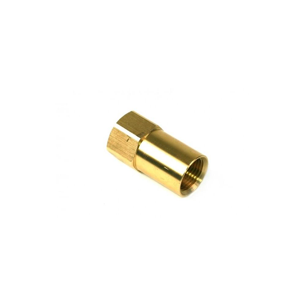 """Adaptateur bouteille de gaz à remplissage direct - G 3/4 UNF à W21,8 x 1/14"""" LH - 68mm"""
