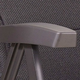 Klappstuhl - Hochlehner grau