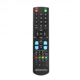 Remote control Alphatronics TV SL-xx DSB/DSB+ und T-xxSB/SB+