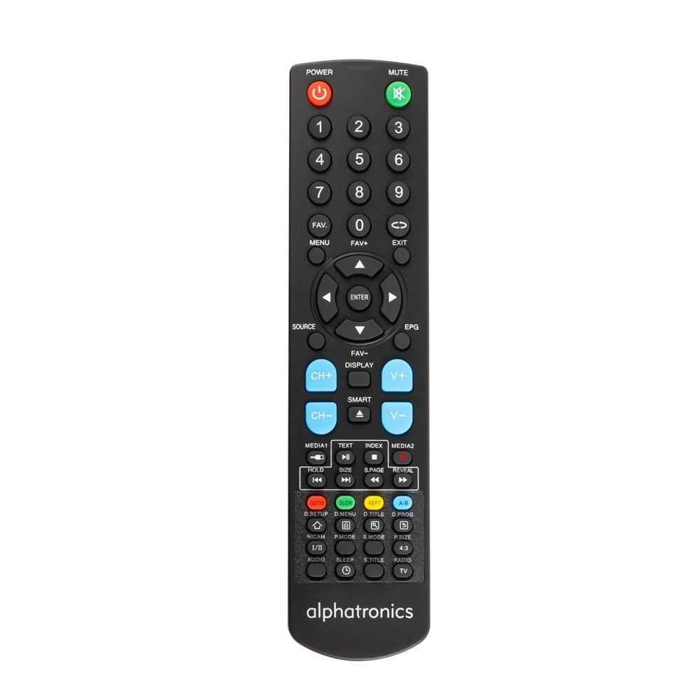 Télécommande Alphatronics TV SL-xx DSB/DSB+ und T-xxSB/SB+