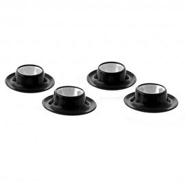 Service de coquetiers, vaisselle de camping / Quadrato Black & White
