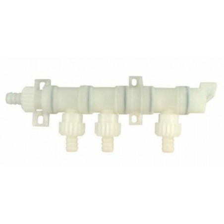 System connector X-Fix 10mm distributor 4 outlets