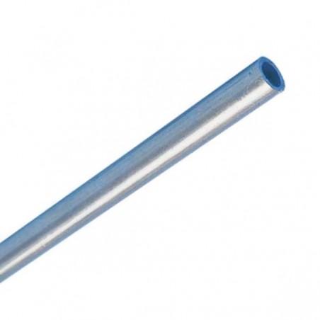 Gas pipe ø10mm steel supply pipe, 10x1mm 1,5m, DIN 2393